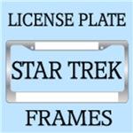 STAR TREK LICENSE PLATE FRAMES