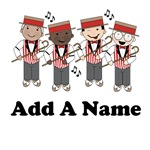Personalized Barbershop Quartet T-shirts