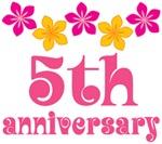 5th Anniversary Gift Hawaiian Themed