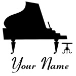 PERSONALIZED PIANO GIFTS AND SHIRTS