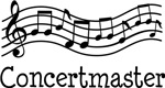 Concertmaster Orchestra Music T-shirts