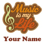 CUSTOM MUSIC QUOTE SHIRTS AND GIFT ITEMS