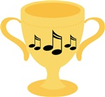 Music Trophy T-shirts and Gifts
