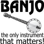 Banjo Instrument Music Tshirts