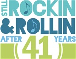 41st Anniversary Rock N Roll Tshirts