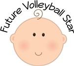 Future Volleyball Star Kids Tee Shirts