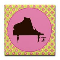 PIANO MUSIC DRINK COASTERS
