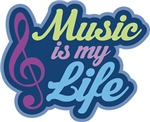 Cute Music Quote Gifts and Tees