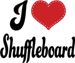 I Heart Shuffleboard T-shirts and Gifts