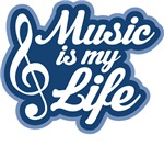 Jazz Music Is My Life T-shirts