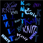 Knit Blue Dark