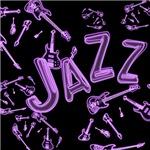 Jazz Electric Bass Purple
