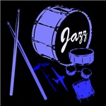 Jazz Drums Blue