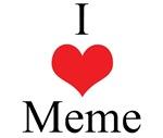 I Love (Heart) Meme