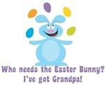 Easter Bunny? I've got Grandpa!