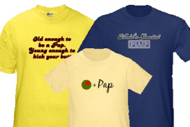 Pap Gifts and T-Shirts