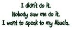 I Want to Speak to Abuela