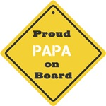 Proud Papa on Board
