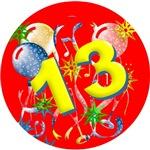 13th Birthday Celebration Gifts!