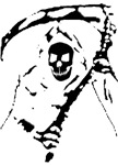 Black Grim Reaper T-Shirts & Gifts!