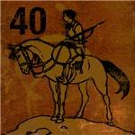 40th Birthday Gifts, Antique Cowboy!