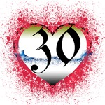 Gothic Heart 30th Gifts!