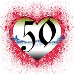 Gothic Heart 50th Gifts!