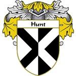 Hunt Coat of Arms (Mantled)