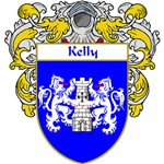 Kelly Coat of Arms (Mantled)