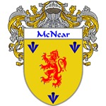 McNear Coat of Arms (Mantled)