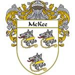 McKee Coat of Arms (Mantled)