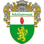 McGuinness Coat of Arms (Mantled)