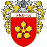 McBride Coat of Arms (Mantled)