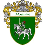 Maguire Coat of Arms (Mantled)