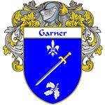 Garner Coat of Arms (Mantled)