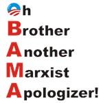Obama Marx Apology