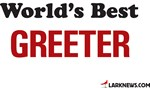 World's Best Greeter