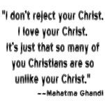 Gandhi and Christians