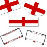 Flag of England, St. George  Cross Auto Goods
