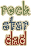 Vintage Rock Star Dad T-shirts & Gifts