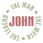 John The Man The Myth The Legend T-shirts Gifts