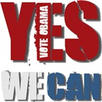 Yes We Can - Obama T-shirts Gifts