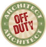 Off Duty Architect T-shirts Gifts