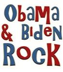 Barack Obama and Joe Biden Rock