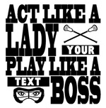 Lacrosse Lady Boss Personalize