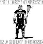Lacrosse Defense Best Offense