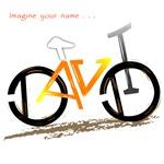 David orange an yellow bike