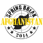 Spring Break Afghanistan 2014
