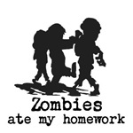 Zombies ate my homework