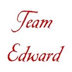 Team Edward in Blood Red
